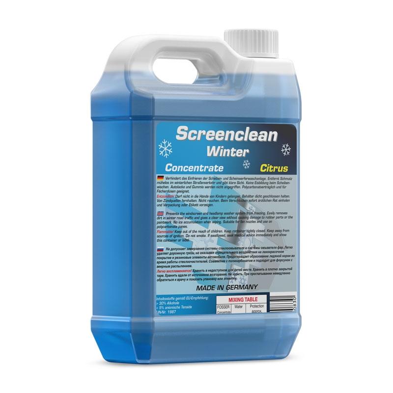 Жидкость омывателя FOSSER ScreencleanWinter Concentrate -70 1л