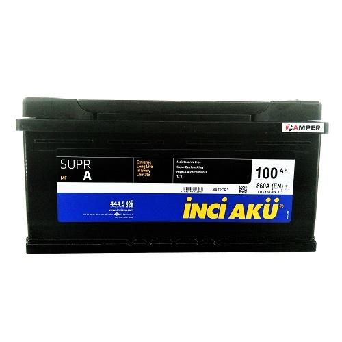 Аккумулятор INCI AKU 100Ah 860A (-/+)