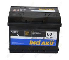 Аккумулятор INCI AKU 60Ah 540A (-/+)