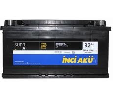 Аккумулятор INCI AKU 92Ah 760A (-/+)